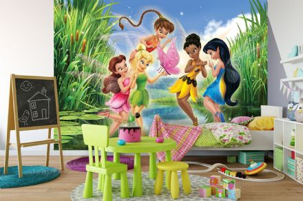 Non-woven wallpaper Disney Fairies